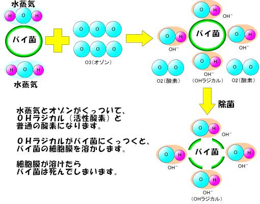 H2O+O3