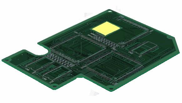 耐熱耐薬品絶縁保護テープによるプリント基板の半田フローや半田リフローの工程で、金端子をマスキング