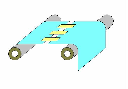 耐熱耐薬品絶縁保護テープによるフィルムのスプライシング(つなぎ)