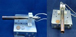 《 小型熱風ヒーター 》ABH-15H