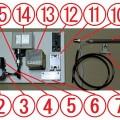 熱風ヒーター ラボキット 100v-350w-10PS 外部エアー仕様