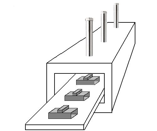 熱風ヒーターによる小型・高温トンネル炉の熱源