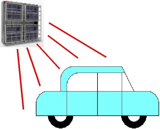 遠赤外線パネルヒーターによるタッチアップ乾燥機