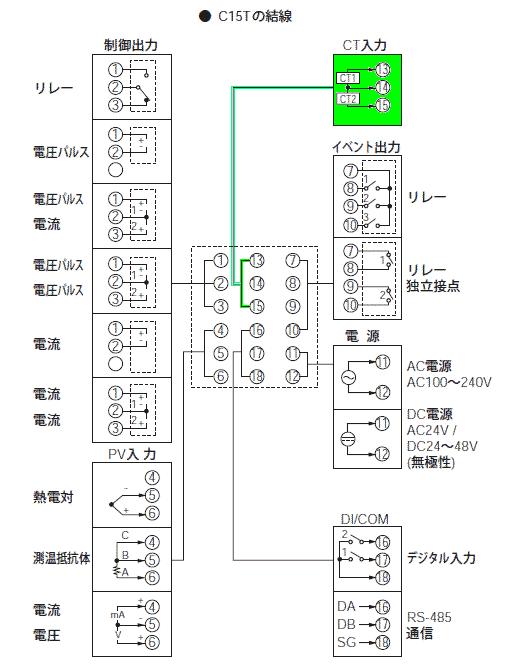 C15Tの結線