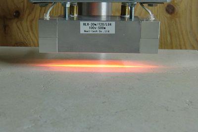 HLH-30W 超小型 水冷式集光型ハロゲンラインヒーター