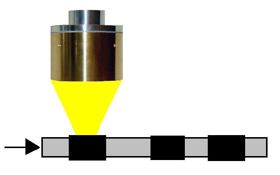 ハロゲンポイントヒーターによる熱収縮チューブの収縮