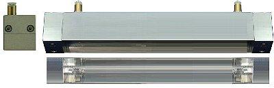 HLH-35W 面加熱用 水冷式平行光型ハロゲンラインヒーター