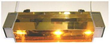 ハロゲンラインヒーターの代表的なランプの寿命