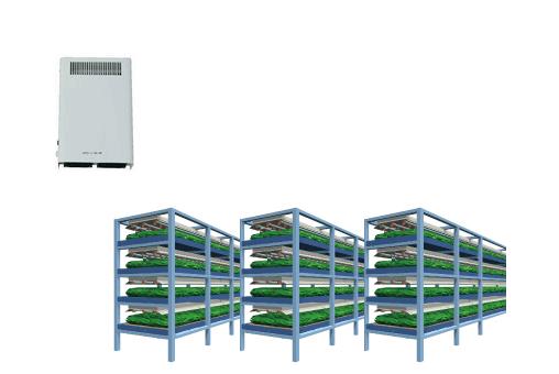 植物工場の殺菌-紫外線殺菌と強力オゾン消臭 OZ-10、OZ-20の活用法