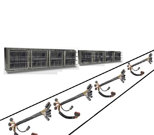ワイヤーハーネスの加熱・保温-遠赤外線パネルヒーターの活用法