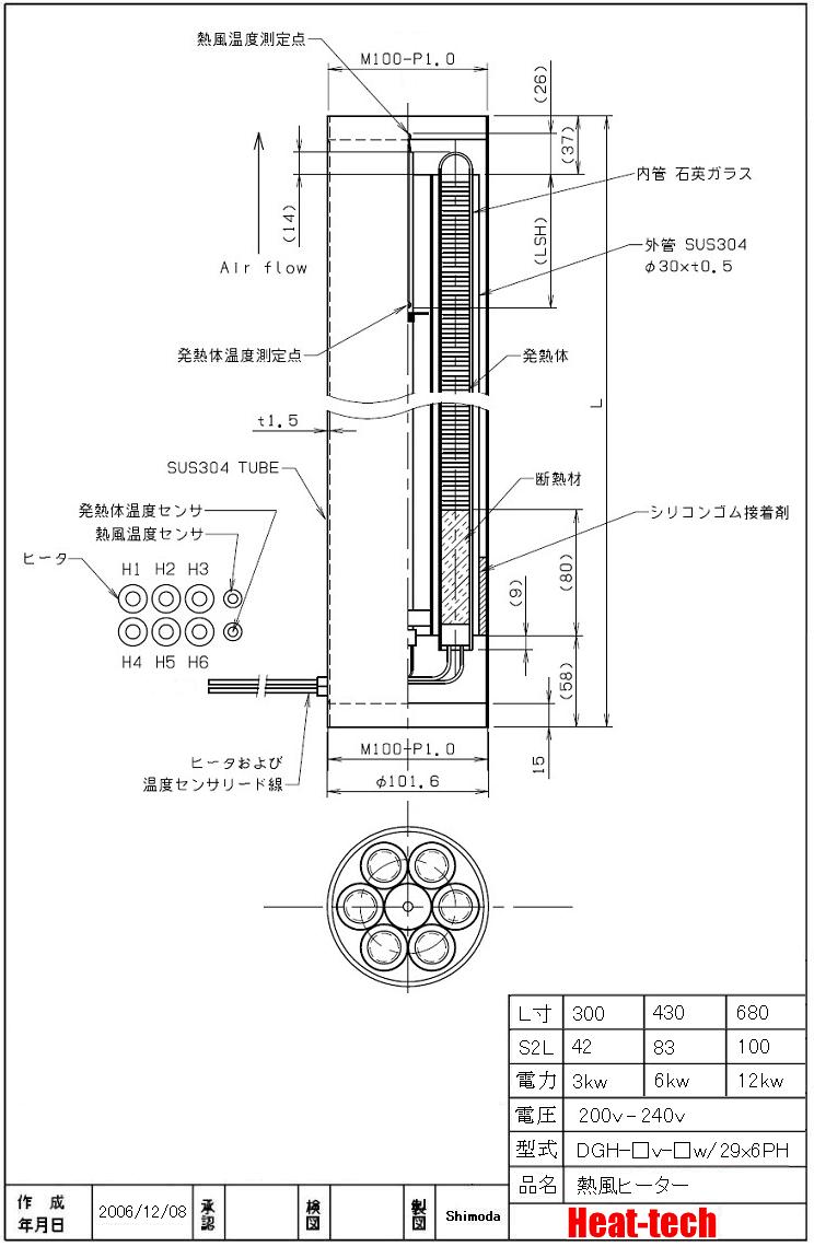 DGH-□v-□w-29x6PH
