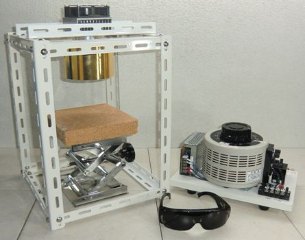 ハロゲンポイントヒーター ラボキット HPH-120A/f45-1000w