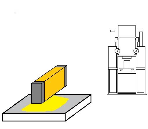ハロゲンラインヒーターによる粉体金属の乾燥・予熱