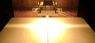 HLH-35A 超小型面加熱用 空冷式平行光型ハロゲンラインヒーター
