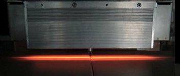 HLH-55W 高性能線加熱用 水冷式集光型ハロゲンラインヒーター