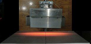 HLH-65A 長距離線加熱用 空冷式集光型ハロゲンラインヒーター