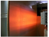 集光型ラインヒーター HLH-55Wによる面加熱応用
