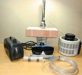 ハロゲンポイントヒーター ラボキット HPH-35/f15-110w