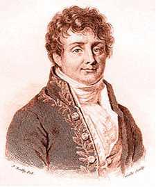 ジャン・バティスト・ジョゼフ・フーリエ男爵(Jean Baptiste Joseph Fourier, Baron de、1768年3月21日 - 1830年5月16日)フランス人