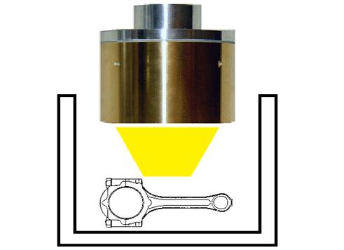 ハロゲンポイントヒーターによる耐熱金属の性能テスト
