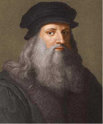 レオナルド・ダ・ヴィンチ ( Leonardo da Vinci 1452年4月15日 - 1519年5月2日(ユリウス暦))
