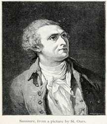 オラス=ベネディクト・ド・ソシュール(Horace-Bénédict de Saussure、1740年2月17日 – 1799年1月22日)
