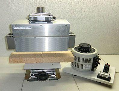 ハロゲンラインヒーター ラボキット HLH-60A/f∞-200v-2kw