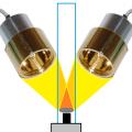 集光型CVD加熱炉の光熱源