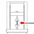 引張試験機の温度設定(低温素材)