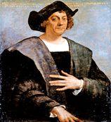 クリストファー コロンブス(Christophorus Columbus 1451年8月25日から10月頃 - 1506年5月20日)伝承:イタリアのジェノヴァ出身