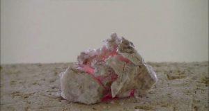 岩石の加熱・溶解・ガラス化シリーズ19 リチア雲母(Lepidolite)