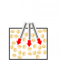 マカダミアナッツの熱風焙煎-熱風ヒーターの活用法