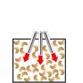 カシューナッツの熱風焙煎-熱風ヒーターの活用法