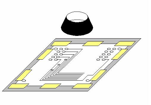 耐熱耐薬品絶縁保護テープによる露光・印刷時にフィルム(マスク)の止め