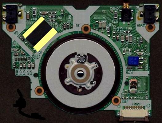 耐熱耐薬品絶縁保護テープによるハードディスクの絶縁保護