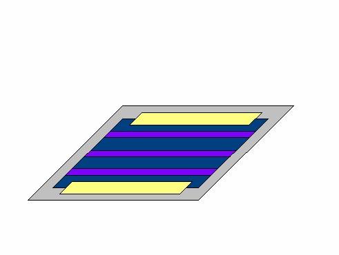耐熱耐薬品絶縁保護テープによるソーラーパネルの端止め
