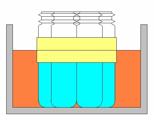 耐熱耐薬品絶縁保護テープによるバイアルの煮沸消毒