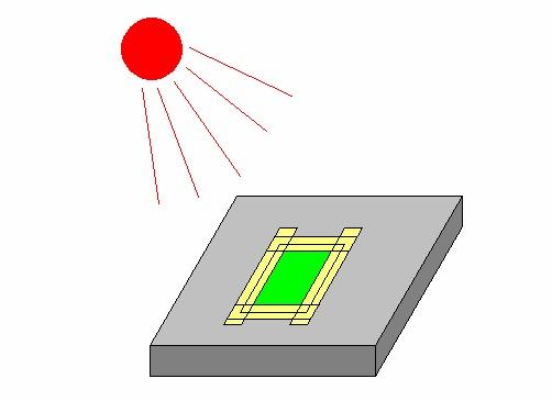 耐熱耐薬品絶縁保護テープによる露光装置の位置固定