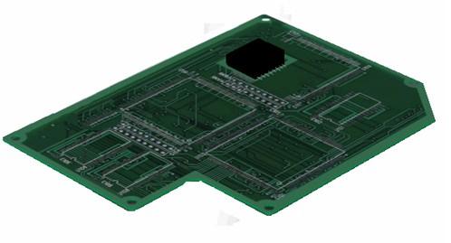 熱風ヒーターによるプリント基板の予熱