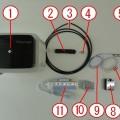 熱風ヒーター ラボキット 10PS-350 ポンプ付属仕様 キットの内容