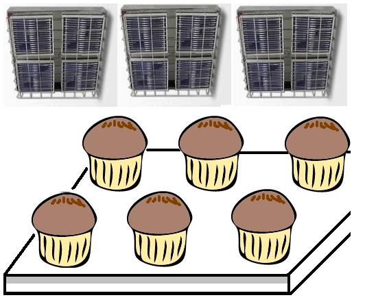 遠赤外線パネルヒーターによる食品の保温庫