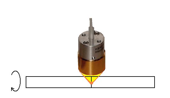 ハロゲンポイントヒーターによる熱可塑性樹脂管の接合