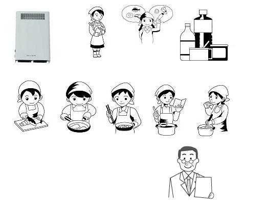 オゾン型殺菌消臭器による調理室の殺菌