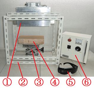 ハロゲンラインヒーター ラボキット HLH-55A/f25/200v-2kw