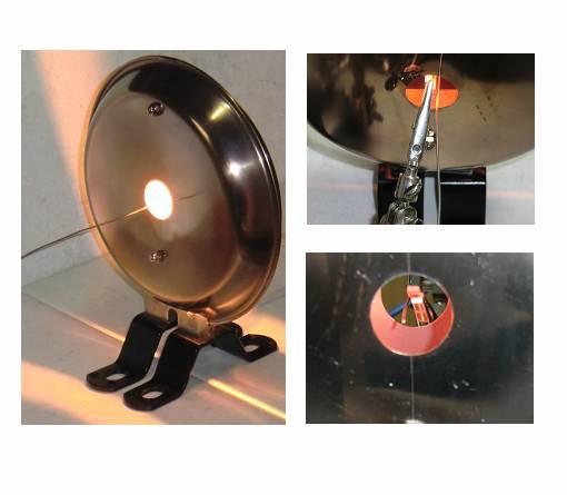 テストピースの加熱-ハロゲンリングヒーターの活用法