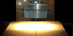 高性能平行光型ハロゲンラインヒーター HLH-60シリーズ