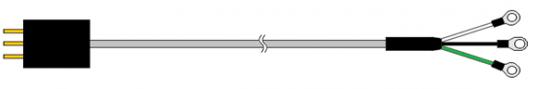 ヒーターコントローラー用電源ケーブルの概要