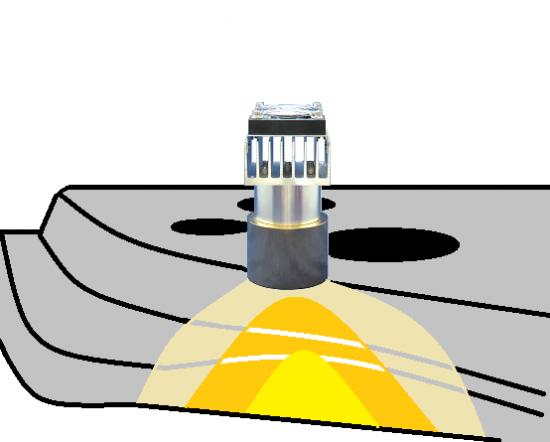 プリキュアシーラー塗布後の乾燥-ハロゲンポイントヒーターの活用法