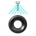 タイヤのひび割れテスト-紫外線灯の活用法