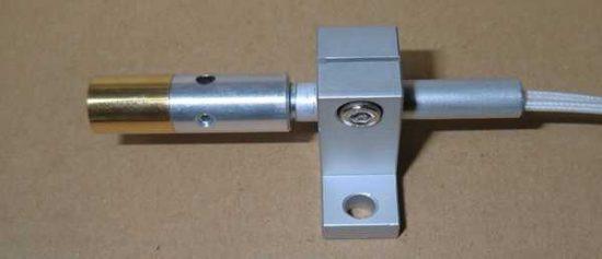 TS-2に装着したHPH-12/f6/12v-18w/L40